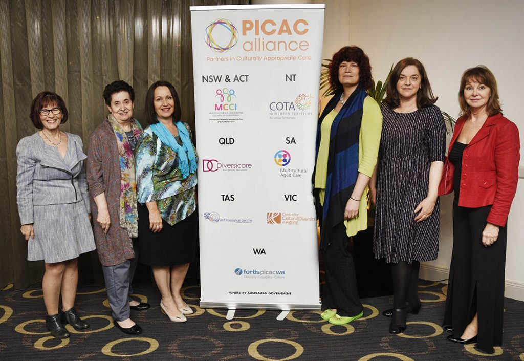 PICAC Alliance members at the CALDWays Conference 2018