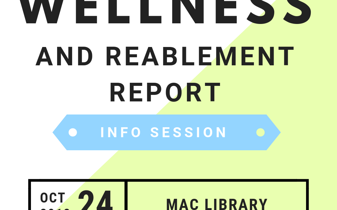 The Wellness and Reablement Report Information Session