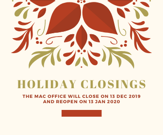 2019/20 Summer Closure